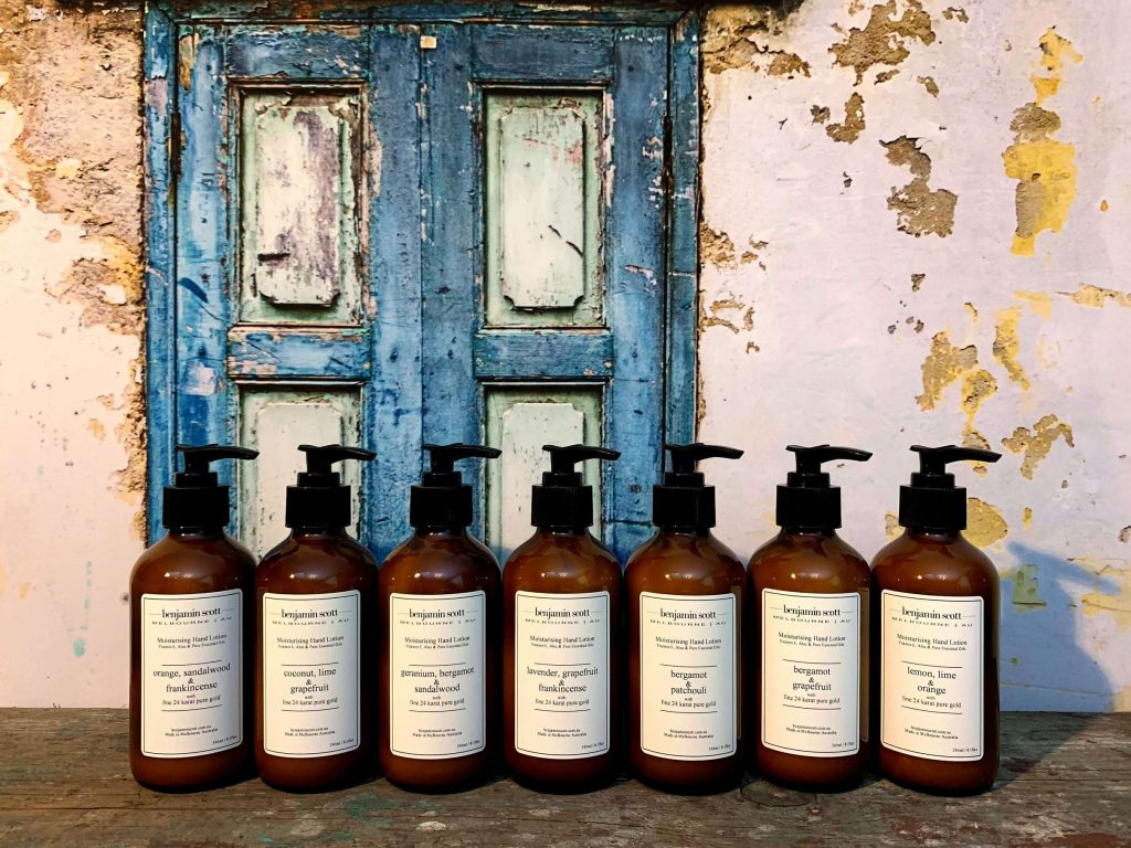 Benjamin Scott Luxury Body Products with Pure Essential Oils Body Lotion