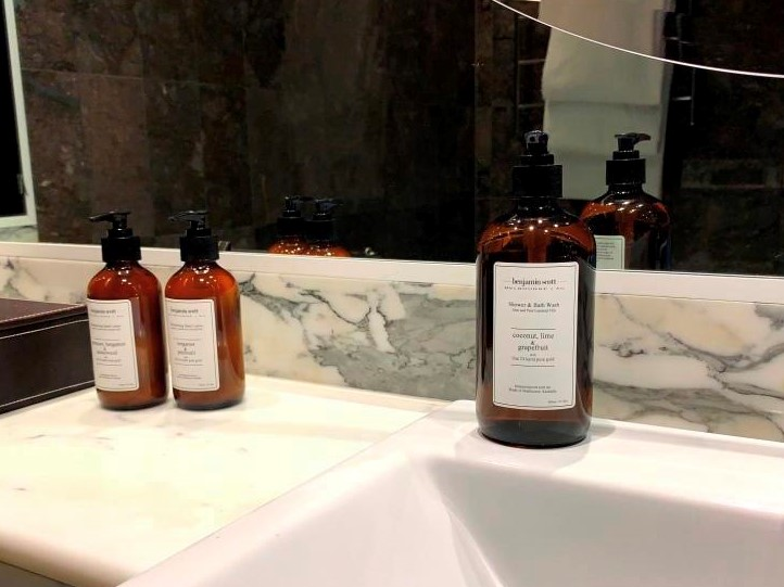 Benjamin Scott Luxury Body Products with Pure Essential Oils and Quality Ingredients Aloe Vera